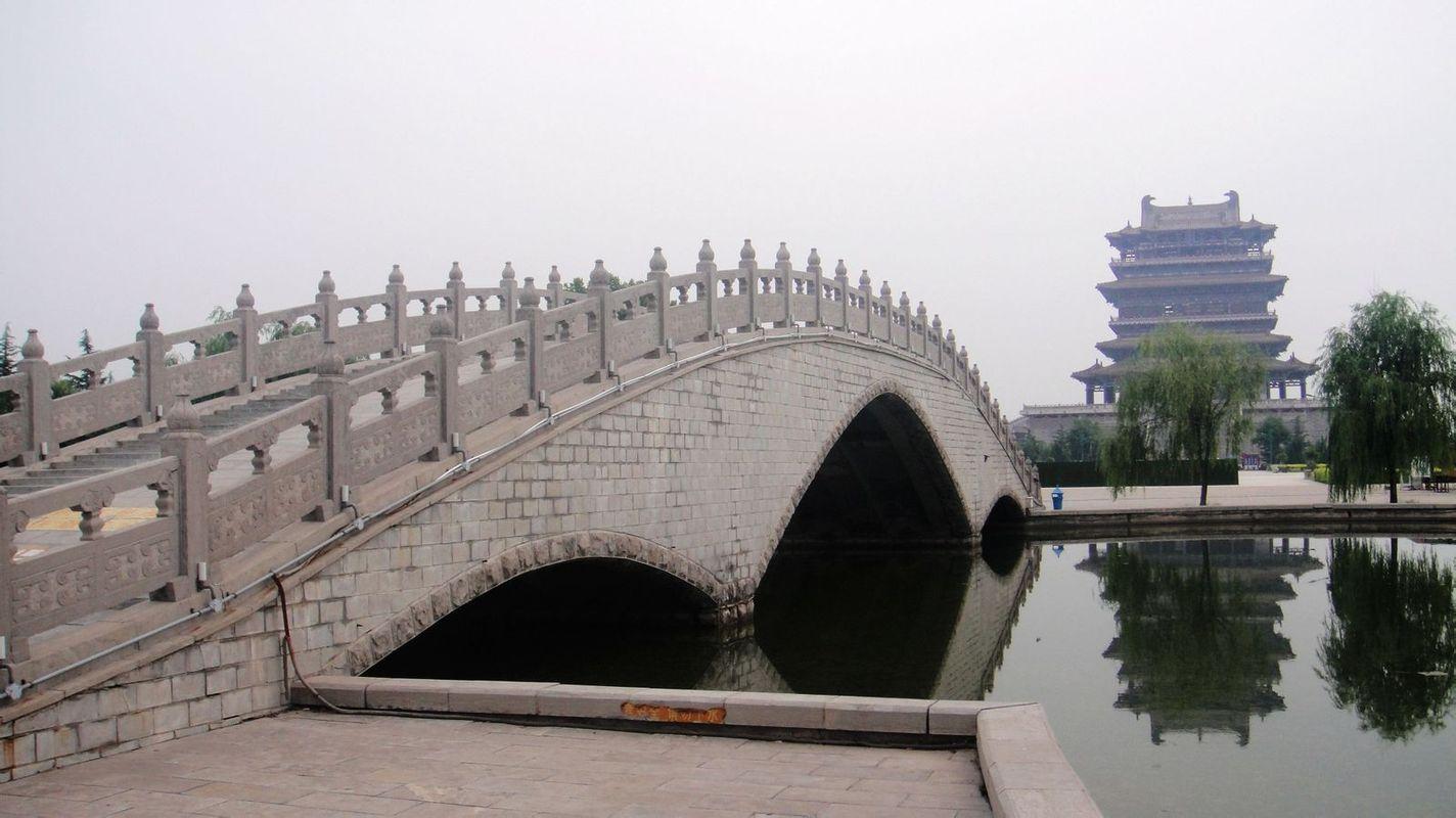 拱桥简笔画 步骤