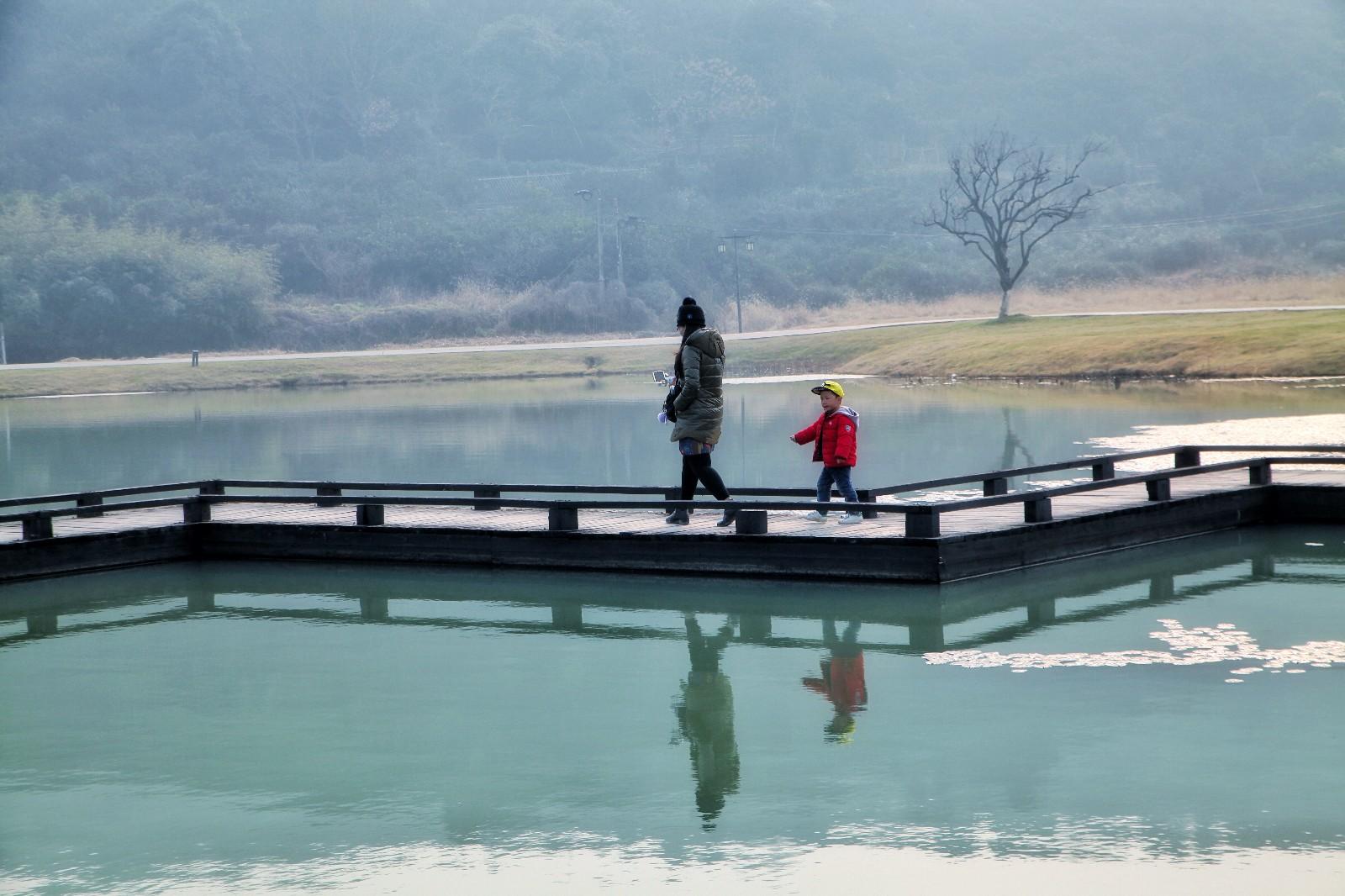这一次海盐之行,从猪猪星球出发,到了绮园,丰义村,南北湖等地,在海盐