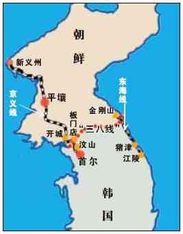 1948年大韩民国和朝鲜民主主义人民共和国成立后,三八线成为朝鲜和