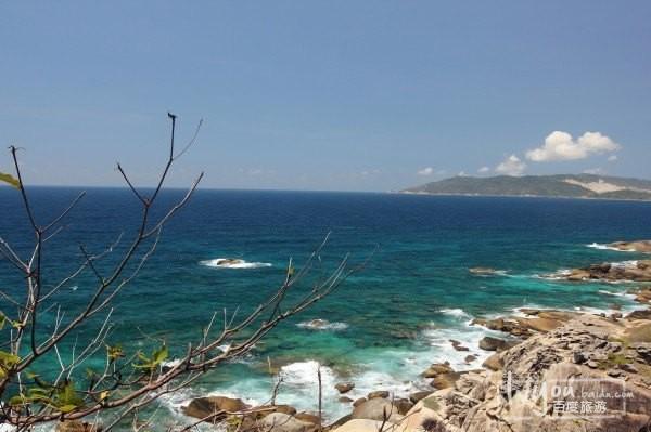 下面就是蜈支洲岛比较有标志性的东西了