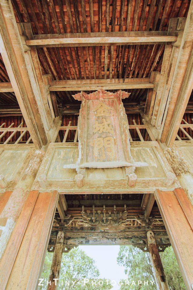 金城门为琉璃互单檐歇山顶木结构筑,是西岳庙现存的第二大建筑物.图片