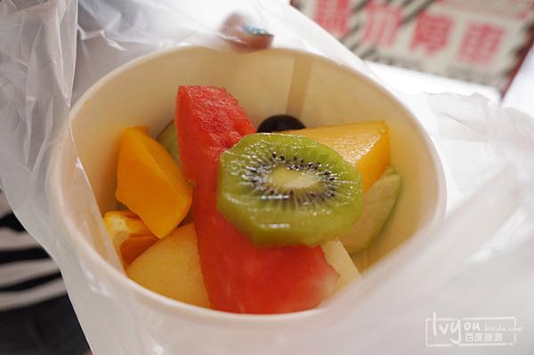水果店的大杂烩水果~图片