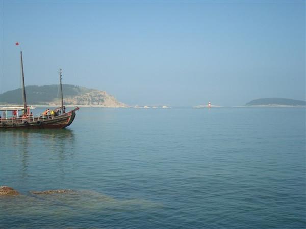 蓬莱,长岛海上之旅