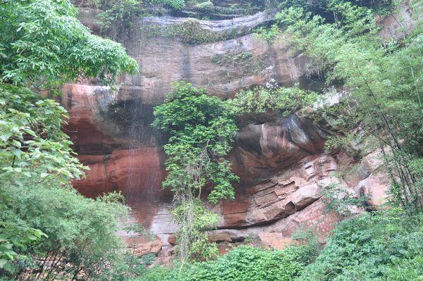 贵州 赤水丹霞,四洞沟景区