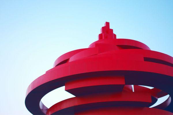 青岛标志——五月的风图片