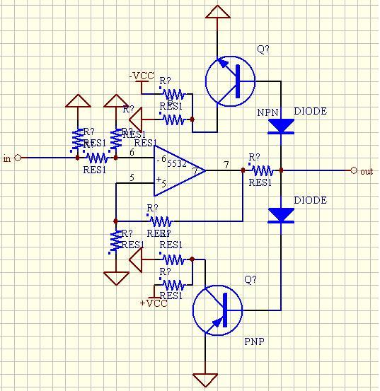 下面电路图的三极管作用是什么?信号限幅用的?请分析一下.