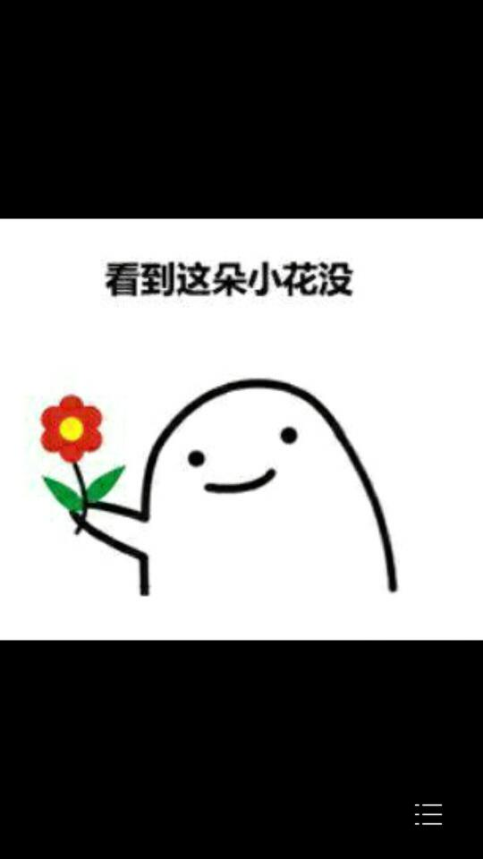 看到这朵小花没,丢掉都不给你.这一系列表情包图片