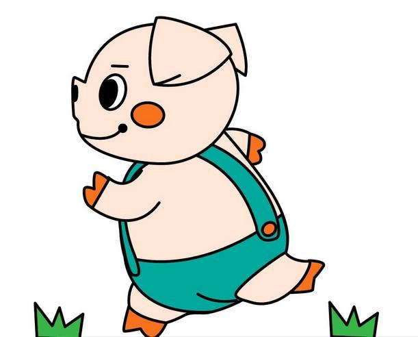 简笔画怎么画猪