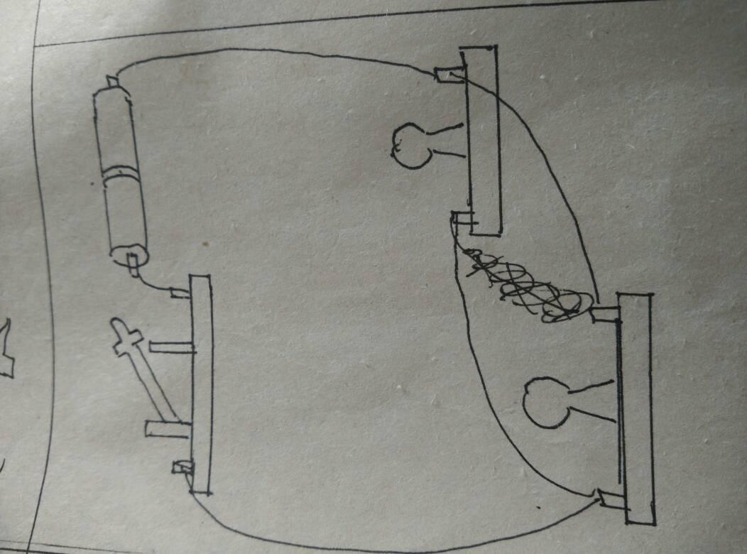 初中物理画电路图