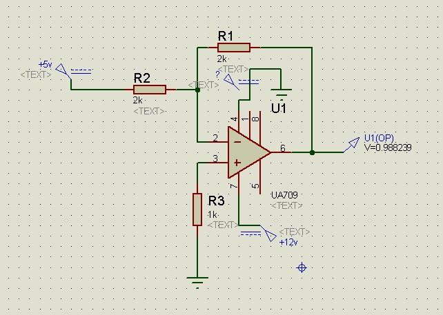 用ua741只能双电源供电吗 为什么我用单电源供电输出结果是错误的
