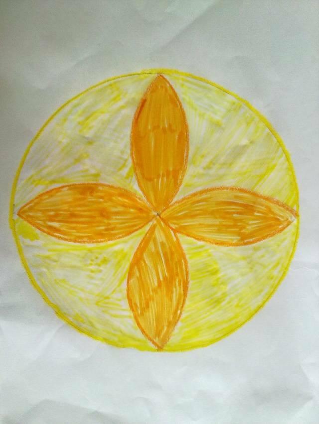 请用圆规画出美丽的图案,谁先画出来,中大奖20个金币