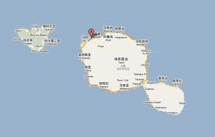 展开全部 塔希提岛   塔希提岛,港台称为大溪地,法国的海外属地,其