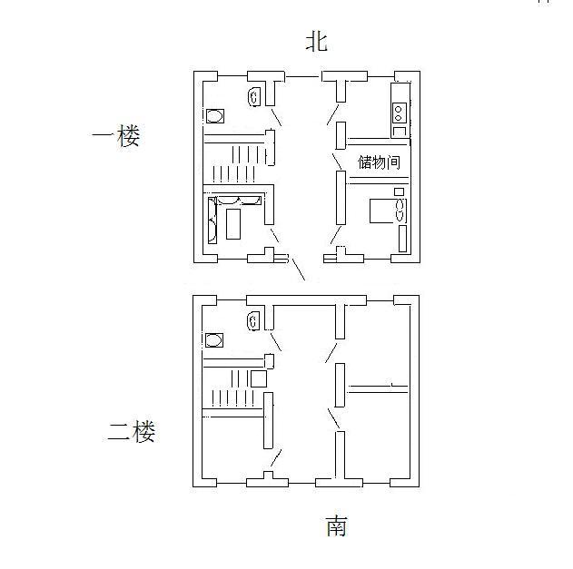 面积是长10宽11,大门开的方向是西南想盖三层,大门前有4*15米院子.图片