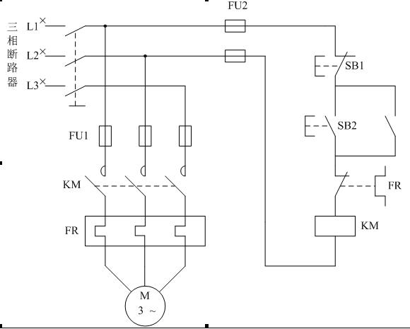 这个图能启动电机吗,用plc控制电机的启停,第一张是原理图下面接线对