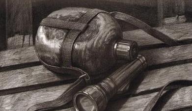 执耳水壶手绘图案