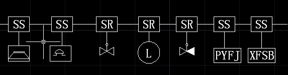 电路图中的ss,sr等字母及符号分别代表什么意思?