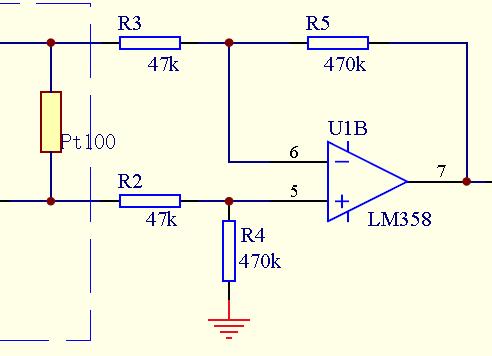 lm358差分放大电路,输出电压没有变化,求大神帮忙!