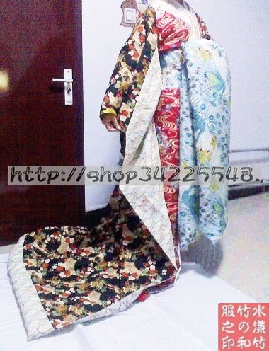 和服花魁腰带的系法 就是类似这样的 腰带要多宽 多长