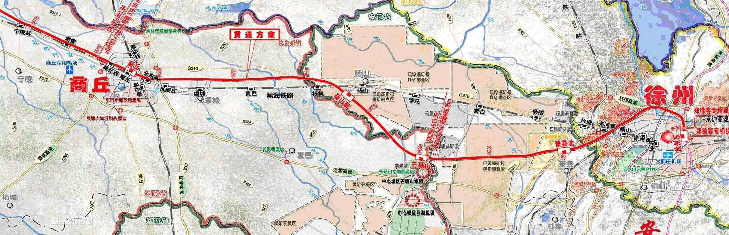 永城2019重大规划图