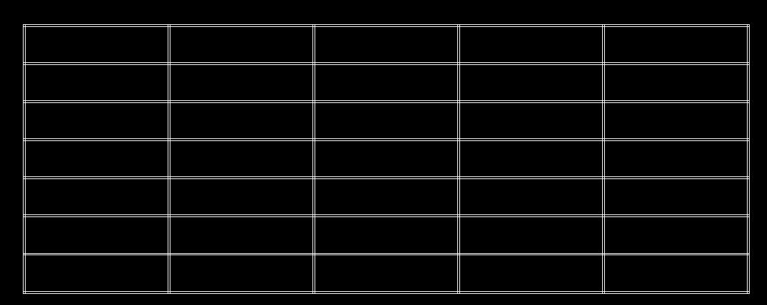 cad显示wps矩形后导入是双线,是一个表格cadbatang@字体图片