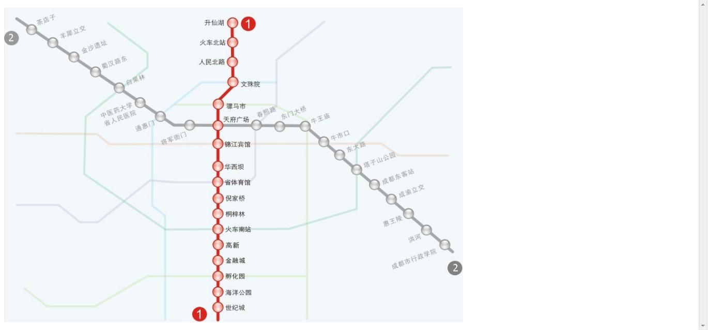 成都地铁二号线龙泉终点站离阳光城距离有多远