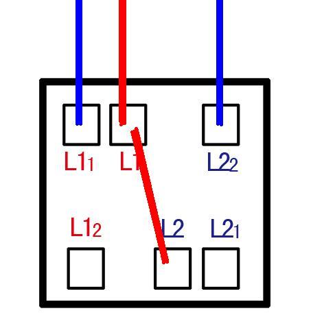 如图,6孔双开开关怎么接线?拜托高手帮忙