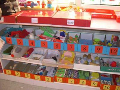 幼儿园美工区投放哪些材料图片