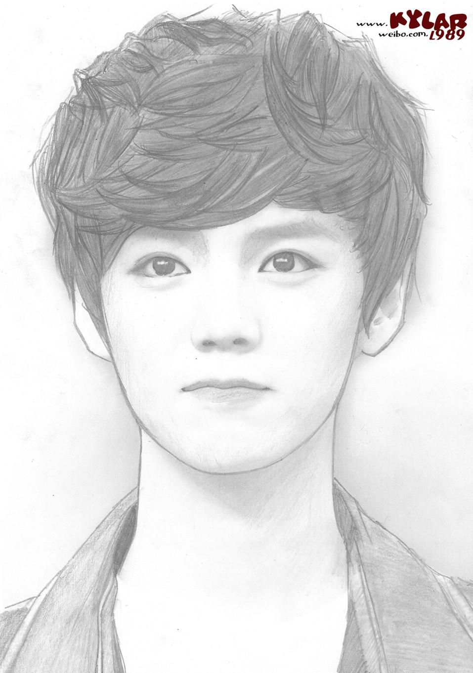 EXO手绘图