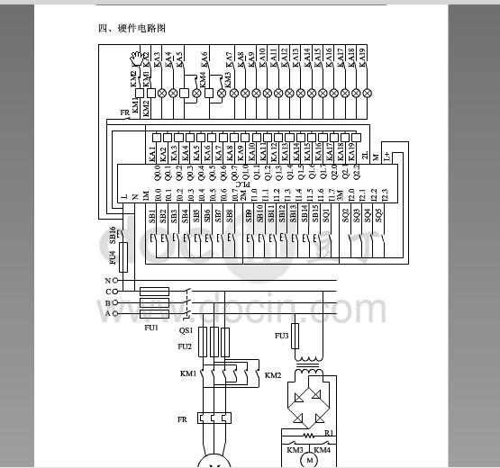 基于西门子plc四层电梯控制系统