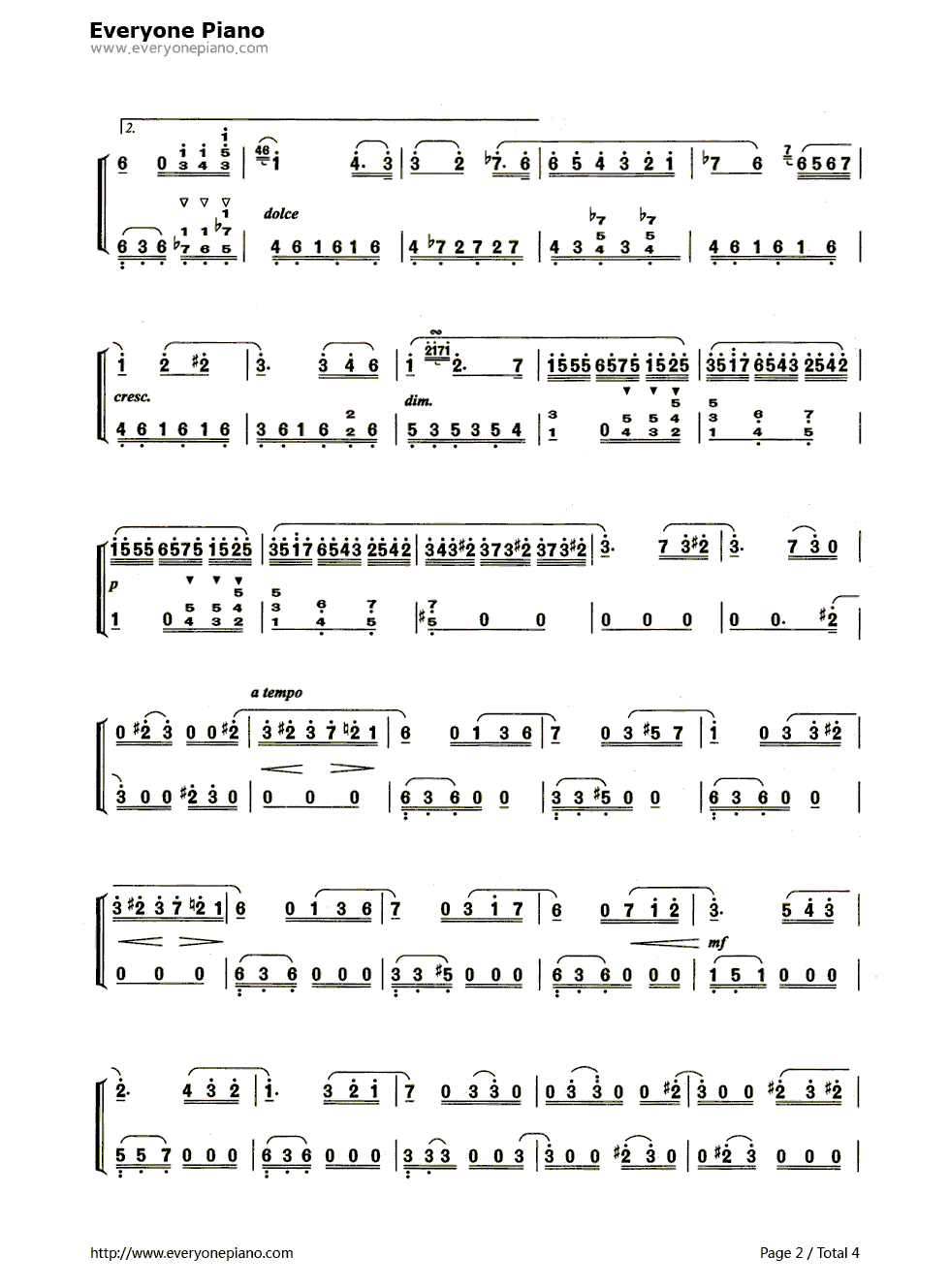 急求[献给爱丽丝]的钢琴谱简谱!要完整版