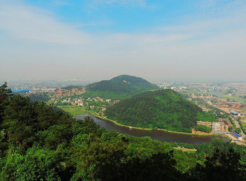 鄂州西山风景区的地理位置