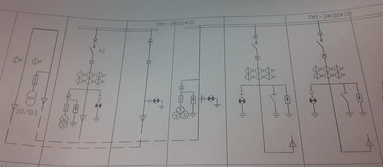 求一份进线柜原理接线图