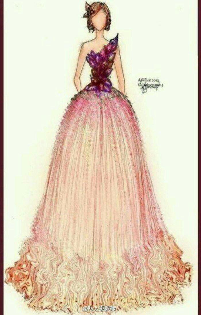 求漂亮的服装设计图,像图片这样子的 不是设计图也行