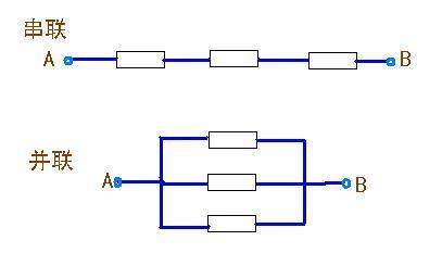 电池串联和并联的区别图片
