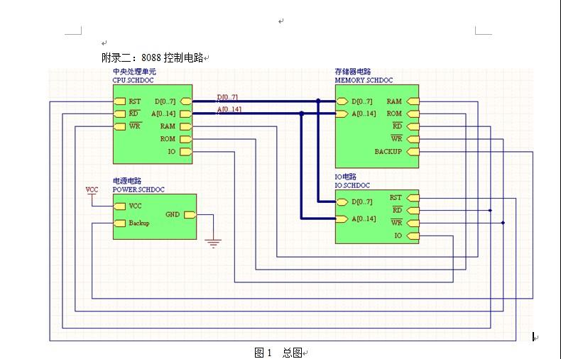 在protel dxp2004中绘制一个电路的仿真原理图