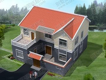 设计图精选 本人家住农村,离市区有5公里,想自己盖房子(两层)坐南朝北图片