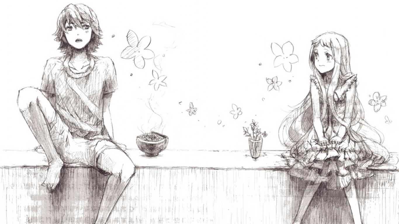 征:那种二次元动漫公认的情侣,要一眼就看的出来是情侣的情侣图片