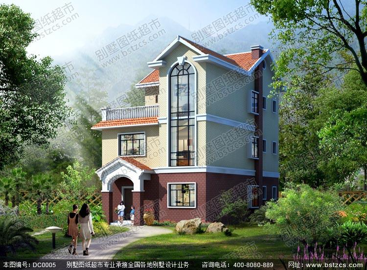 跪求农村10mx12m别墅设计图