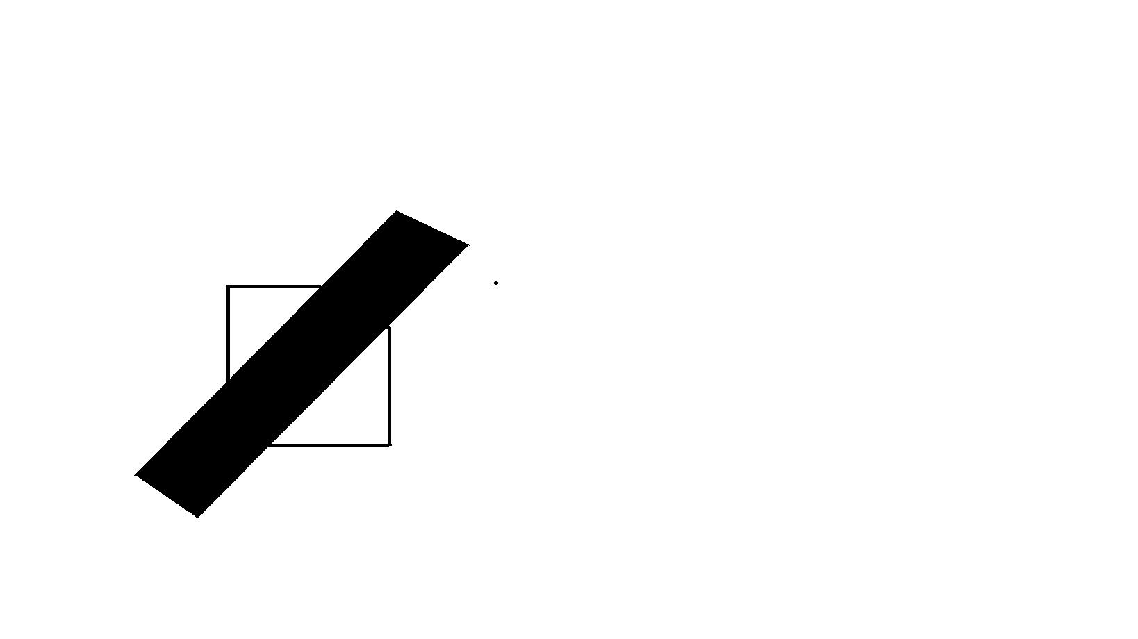 这个图形怎么用一条直线画成两个三角形图片