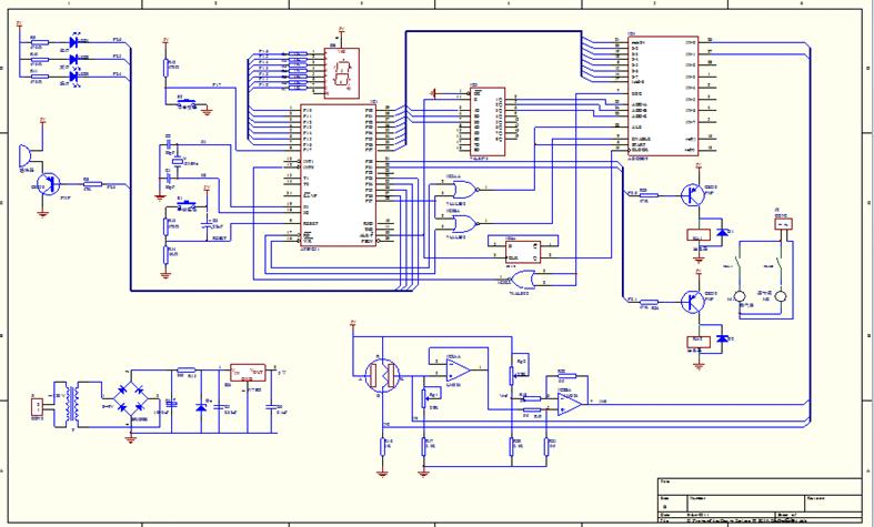 谁会protel啊,帮我画一个单片机的硬件接线图呗!