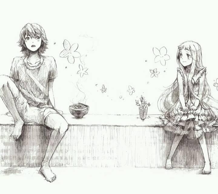 动漫人物狂笑或流泪的黑白图(至少3张)