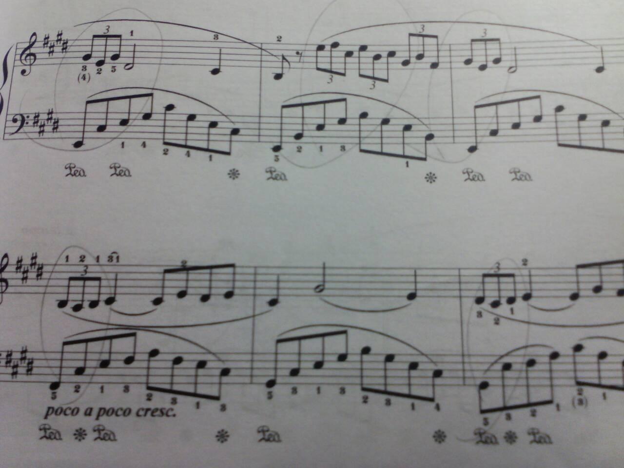 钢琴谱帮忙