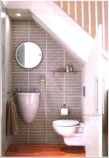 厕所 家居 楼梯 设计 卫生间 卫生间装修 装修 384_555 竖版 竖屏