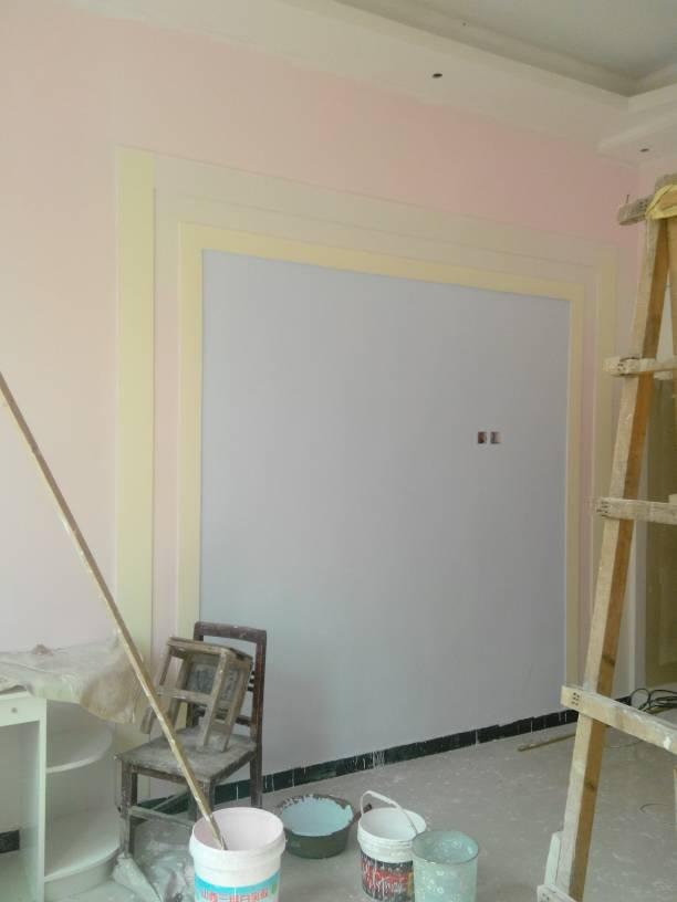 室内装修,刷墙漆刷的颜色太重了怎么办
