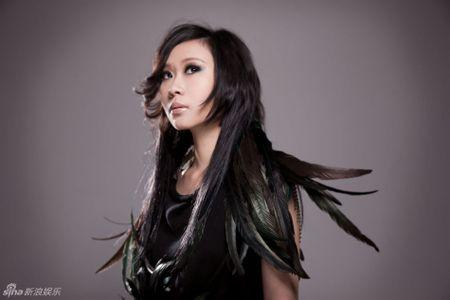 朱紫娆瘦的时候很像一个粤语女歌手 有图片