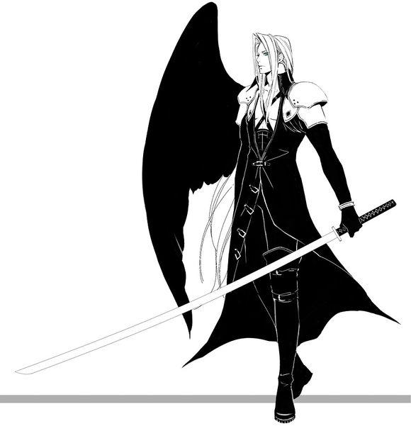 二次元动漫头像男生黑暗天使