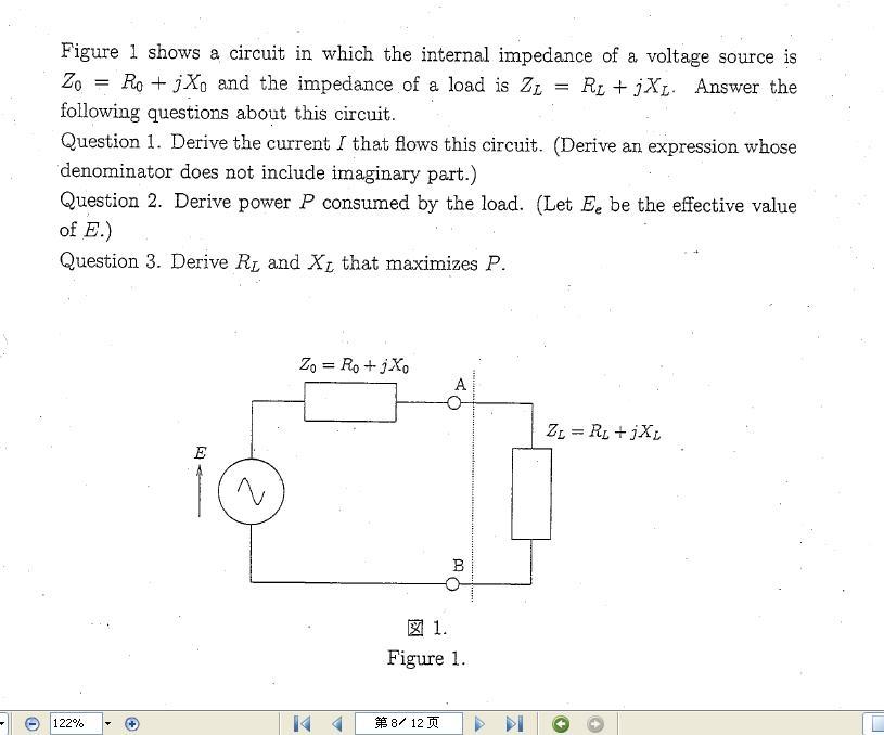 求助 英文电路分析基础问题 物理01