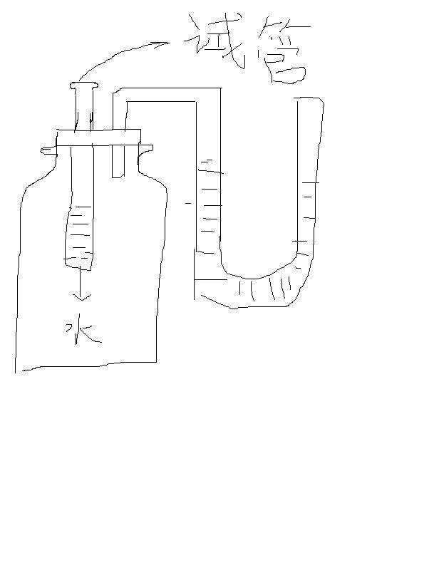 【U型管放清水盐水看液面差的一道物理题,一个U型管,中间由阀门