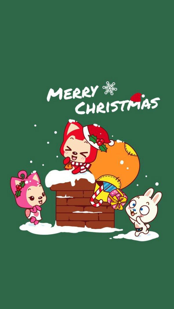 阿狸圣诞节图片