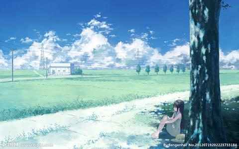 求动漫高清壁纸风景图!
